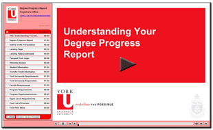 Degree Progress Report Presentation