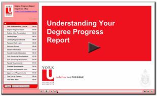 Degree Progress Report Presentation